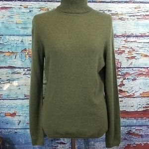 Charter Club 100% Cashmere turtleneck sweater